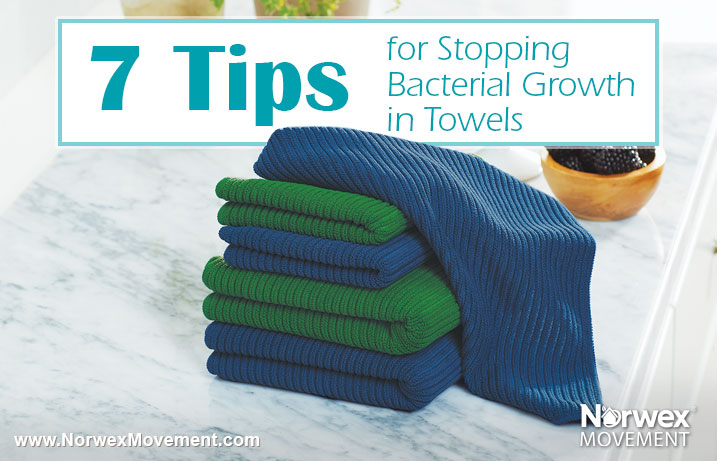 7 Tips for Stopping Bacterial Growth in Towels